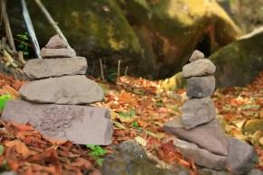 Stone Stacks around Wat Phou