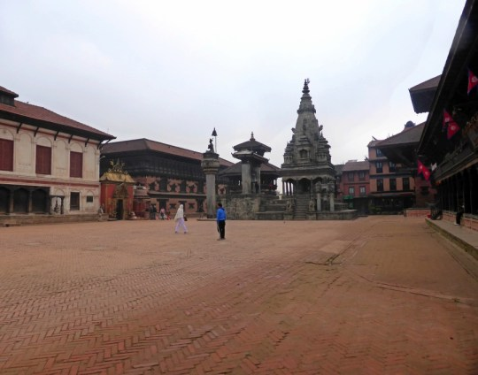 Bhaktapur Durbar Square in A Morning