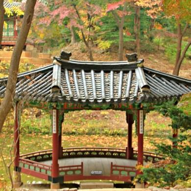 Gwallamjeong's base looks like a fan
