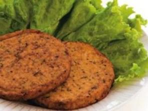 Hamburguesas de soja para celiacos