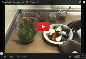Ensalada primavera, youtube