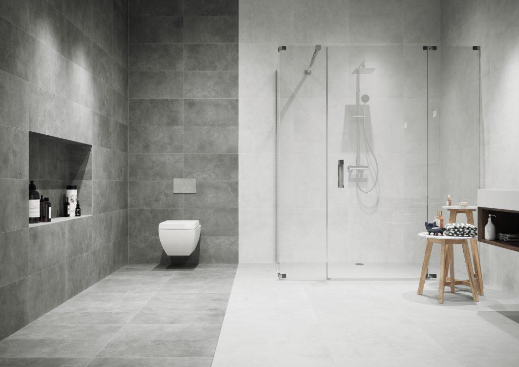 light or dark tiles what colour best