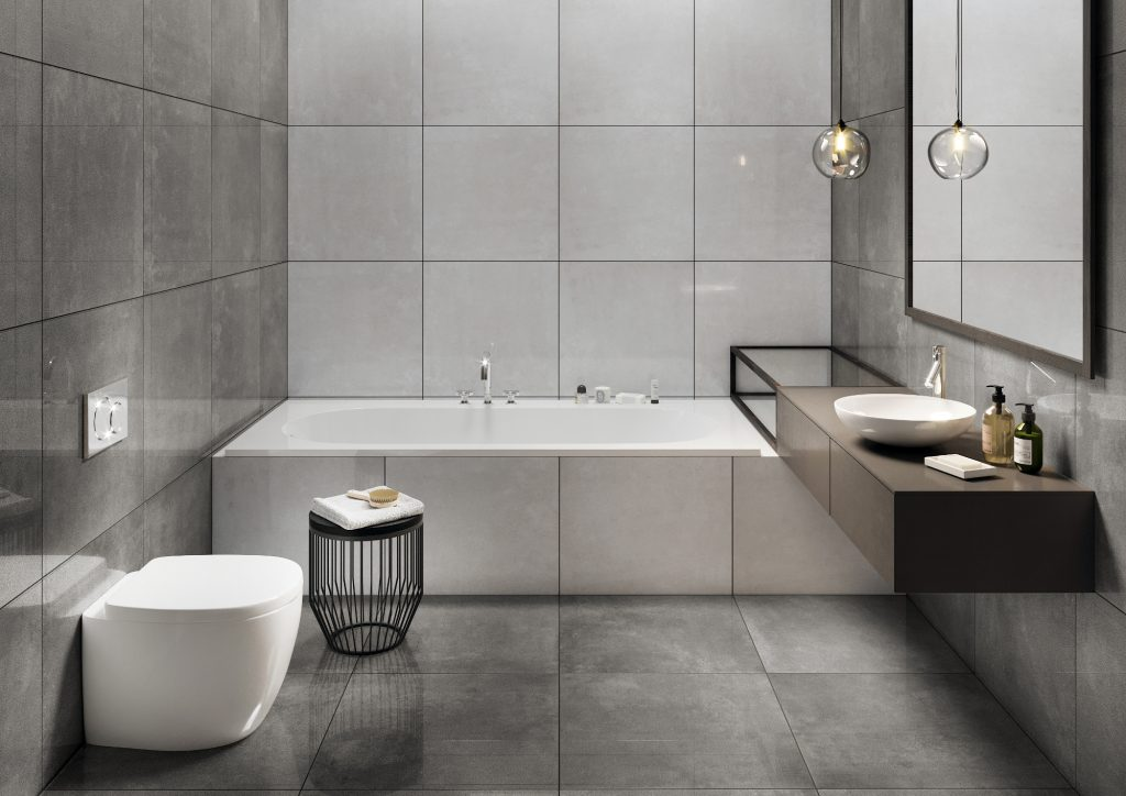 Bathroom Tiles Choose A Modern Bathroom Interior Cerrad