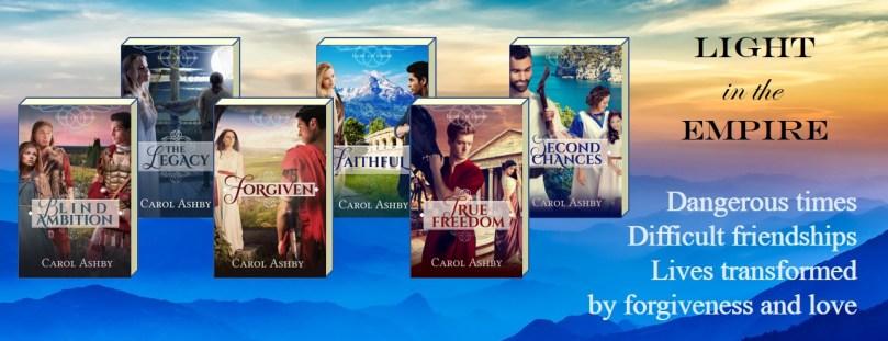 6 Ashby novel covers