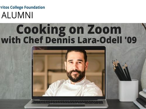Cooking on Zoom with Chef Dennis Lara-Odell '09 @ Online Event via Zoom