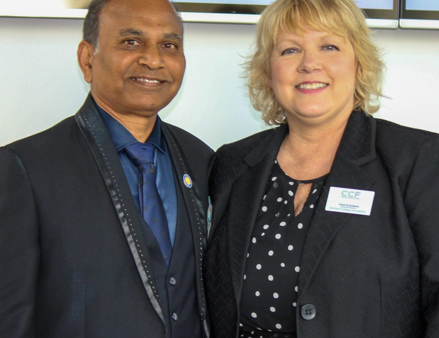 Parimal Shah and Carol Krumbach