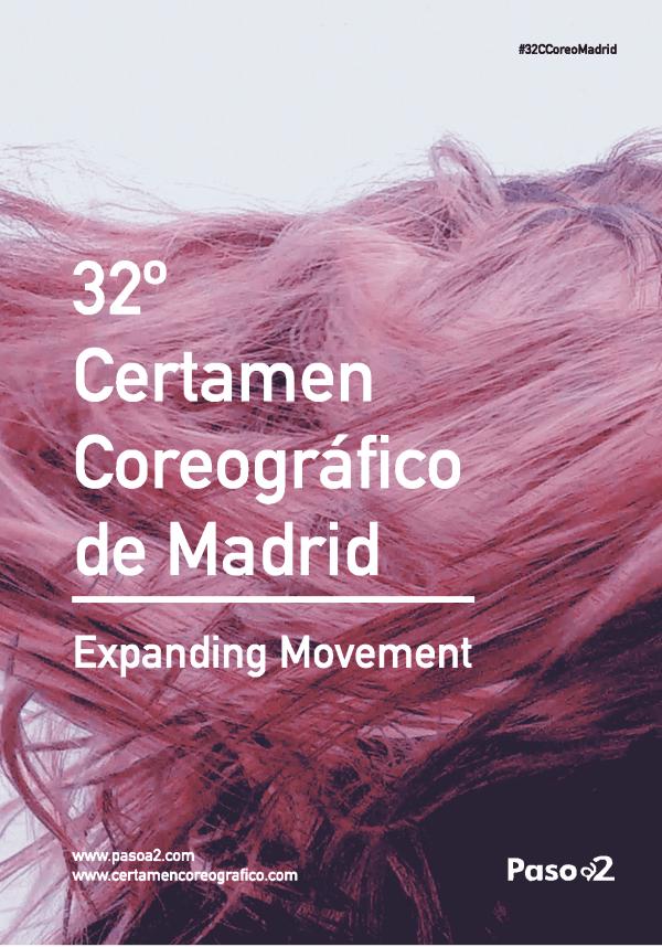 cartel 32º Certamen Coreográfico de Madrid