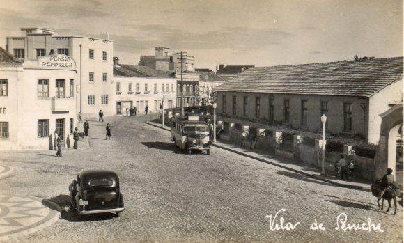 Praça Jacob e café Aviz