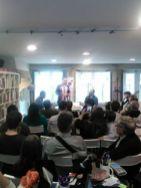 Valentim Fagim e José Ramom Pichel apresentam o livro na Galiza.