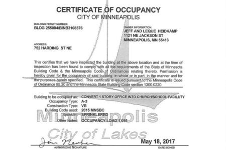 interior no certificate of occupancy » Full HD MAPS Locations ...