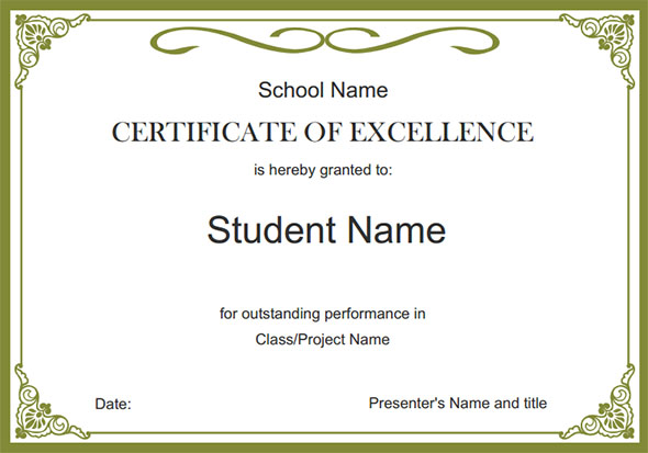 Certificate Printable Templates online certificate templates – Online Certificates Templates