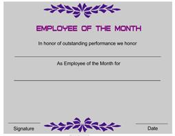 Employee Award Template  employee awards award certificates