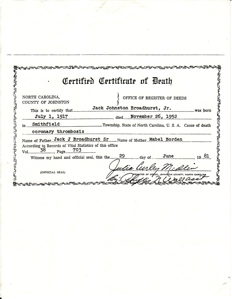 Death Certificate Template Certificate Templates