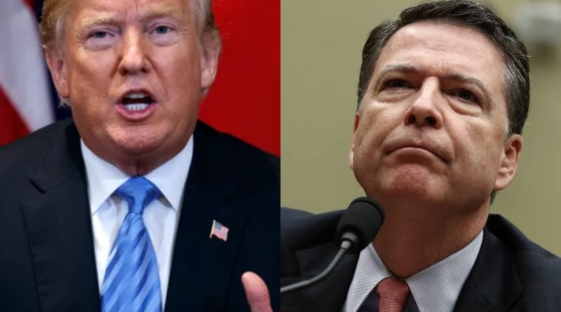 Trump goes NUCLEAR at James Comey over been a Dirty Cop