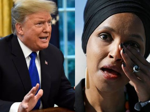 President Trump Finally weighs in on Ilhan Omar's Immigration & Marriage Fraud