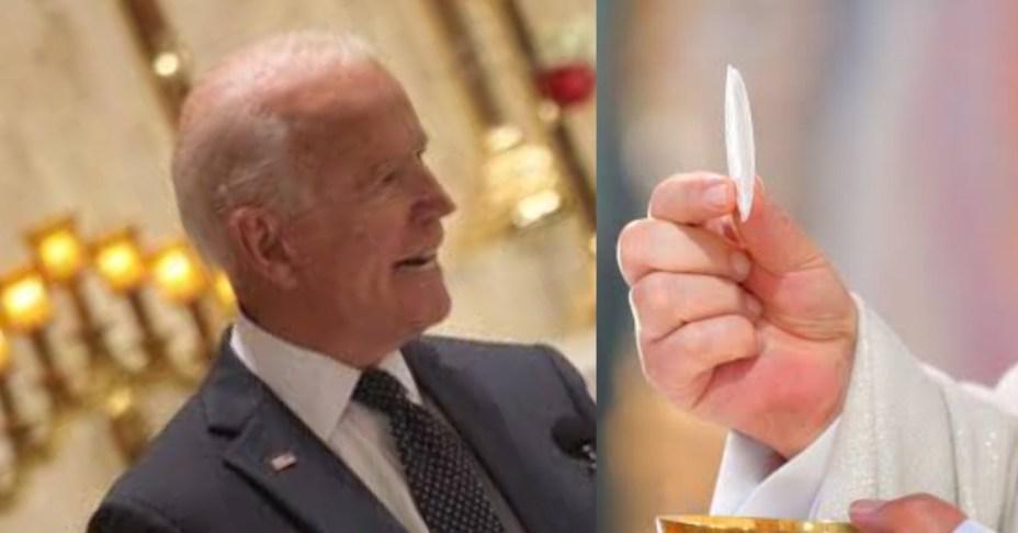 Concrete reasons why Joe Biden was denied Holy Communion