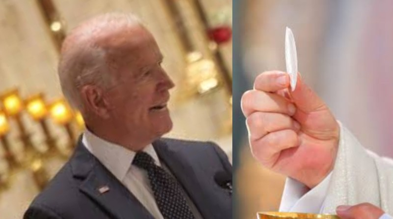 Concrete reasons why Joe Biden was denied Holy Communion