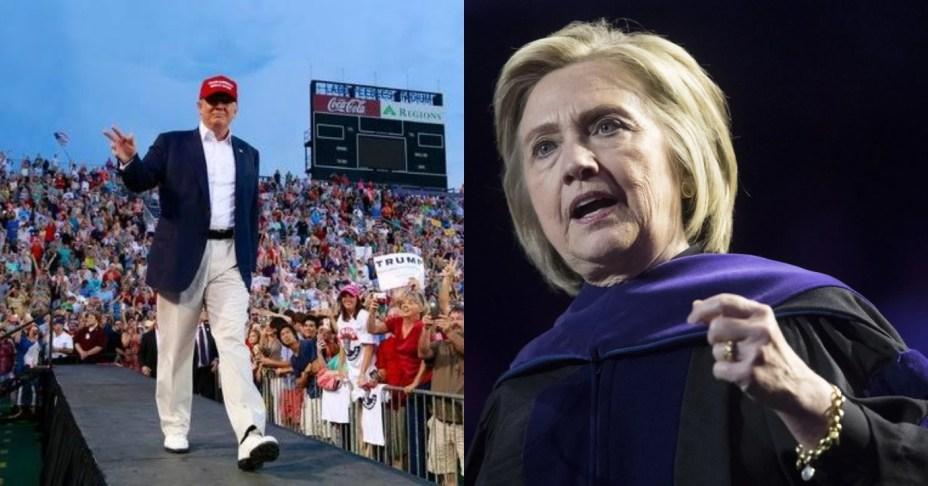 Ex Hillary Clinton aide criticize fans for cheering Trump