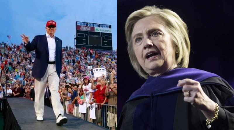 Ex Hillary Clinton aide criticize fans for cheering Trump