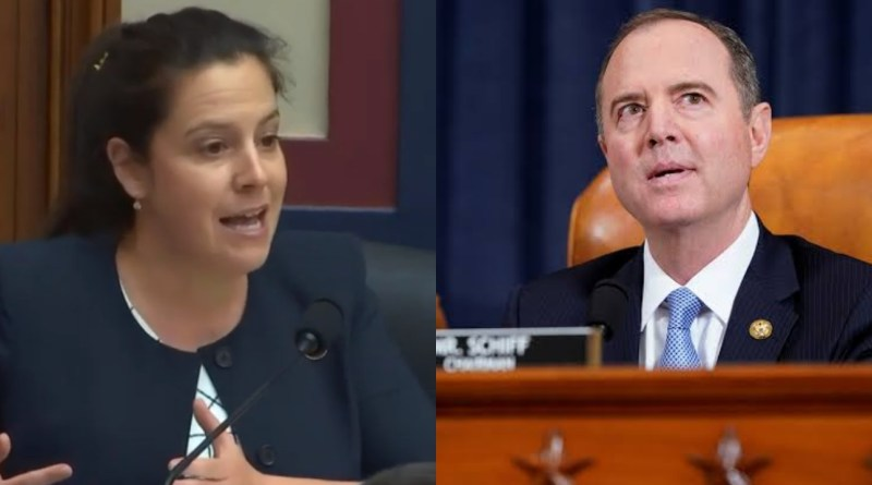 Smart woman leaves Adam Schiff speechless in a heated Trump's impeachment argument