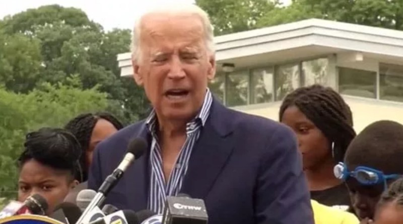 Joe Biden launched into a bizarre, incoherent rant during a campaign speech