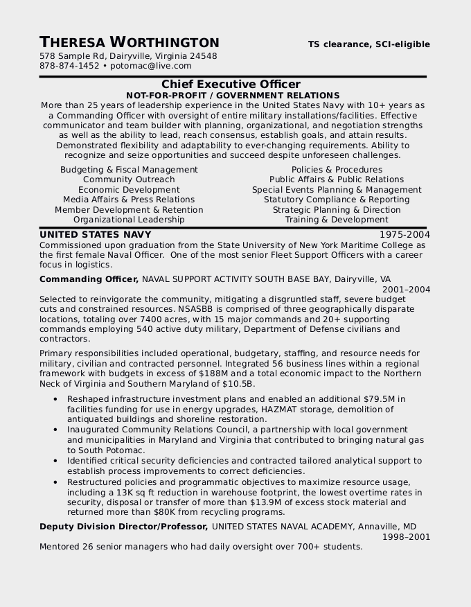 sample military resume civilian resume military resume builder