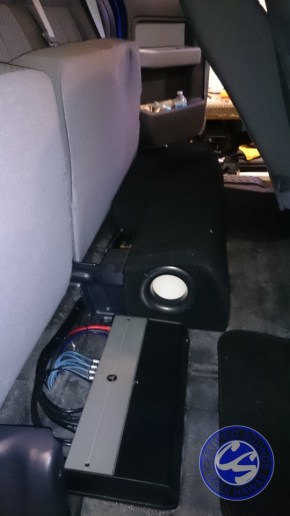 F150 Subwoofer Enhancement
