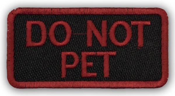 red-do-not-pet