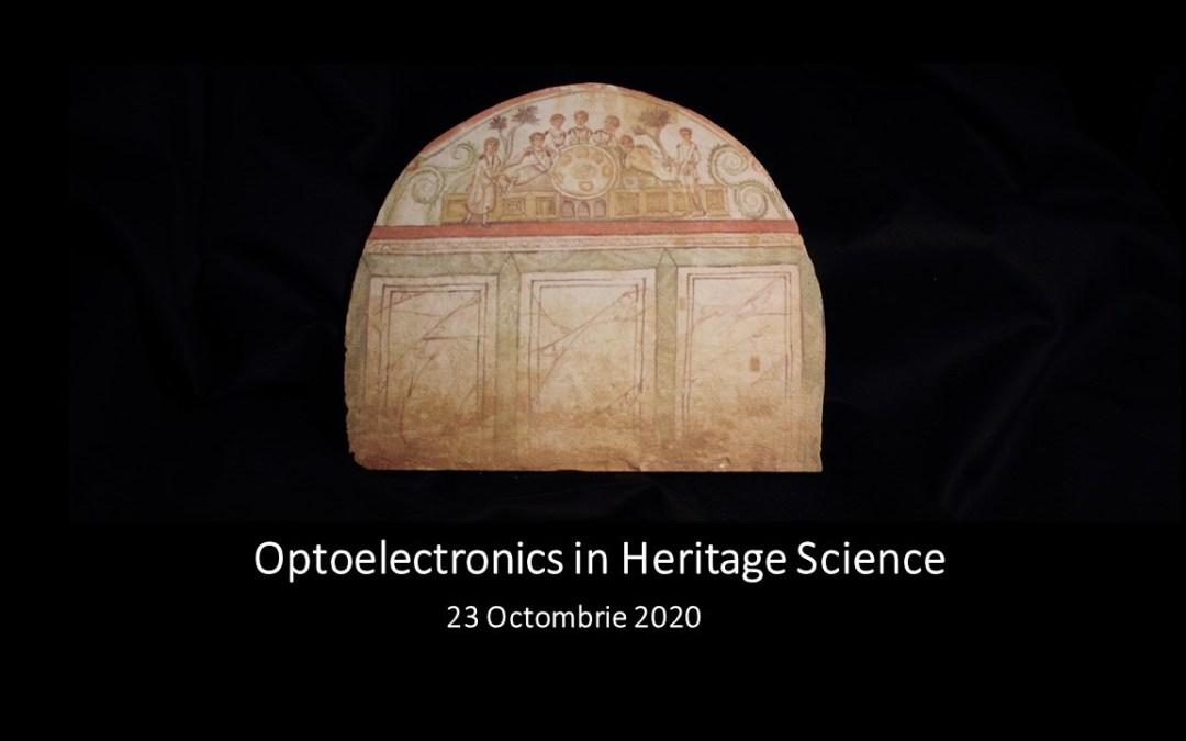 Workshop Optoelectronics in Heritage Science