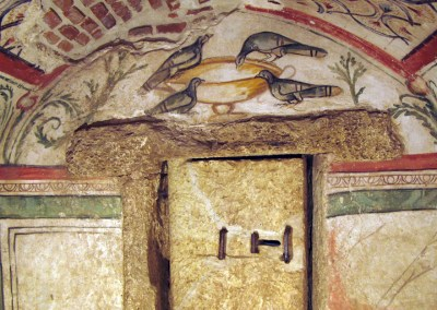 Underground painted funeral chamber from Constanta (Roman Archaeological Objectives)