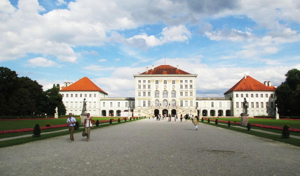 Palacio de Nymphenburg en Munich, Alemania