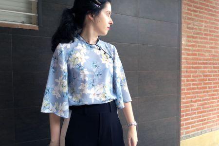 DIY: como hacer una blusa estilo qipao / cheongsam