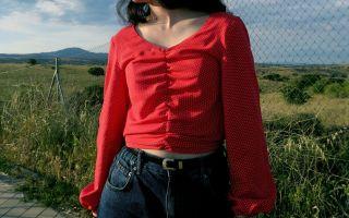 DIY: como hacer una blusa crop fruncida