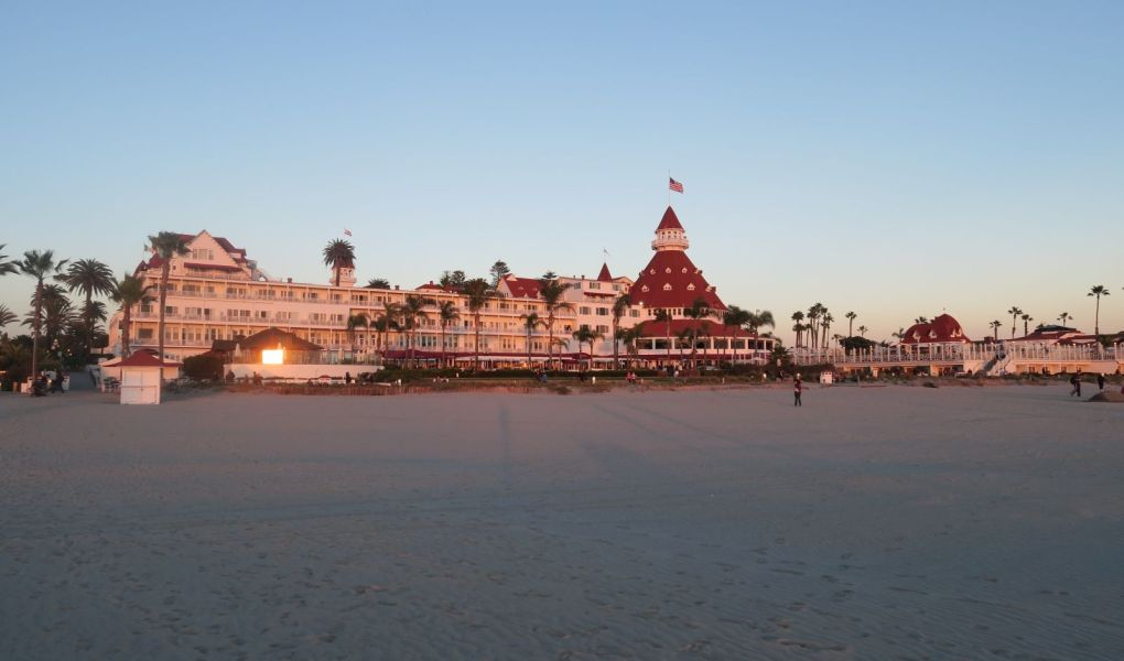 Isla de Coronado en San Diego, Estados Unidos