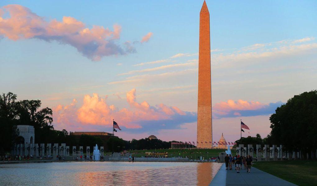 Monumento a Washington en Washington D.C., Estados Unidos