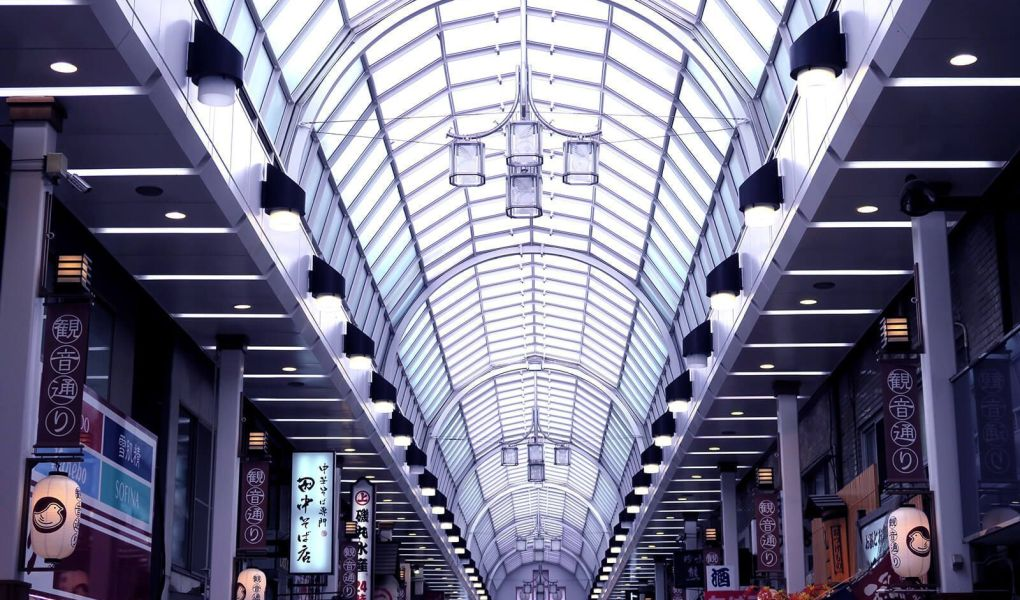 Galerías comerciales en Tokio, Japón