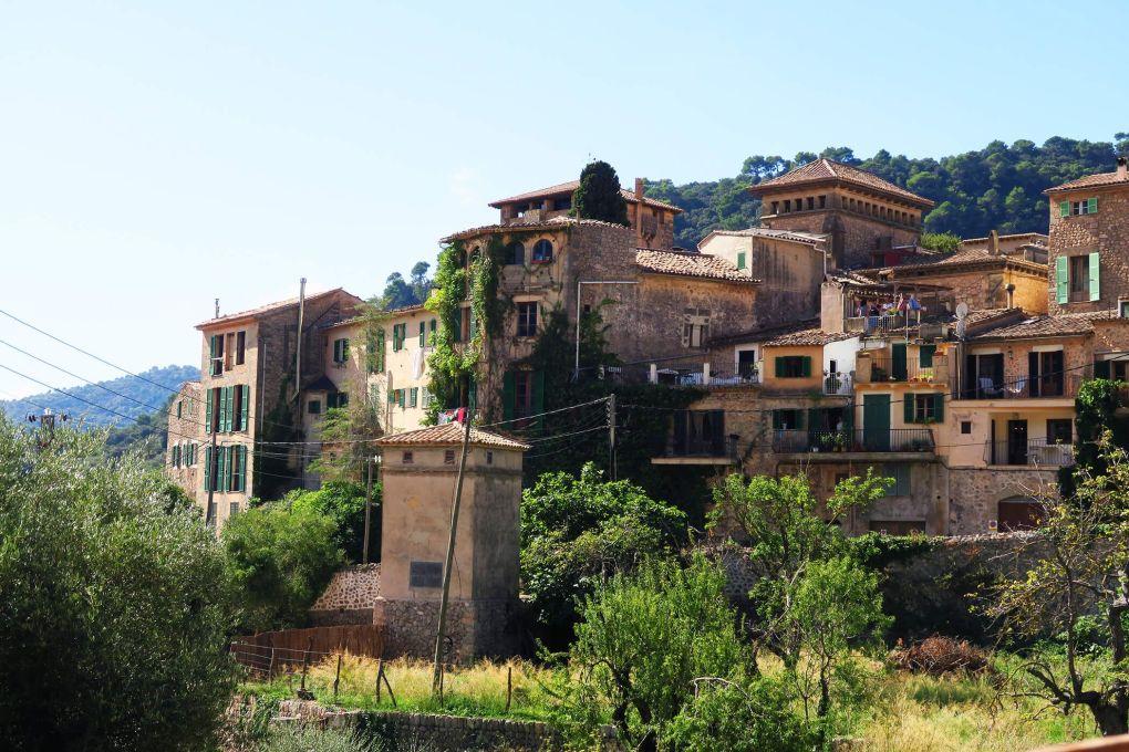 Casas tradicionales en Valdemossa