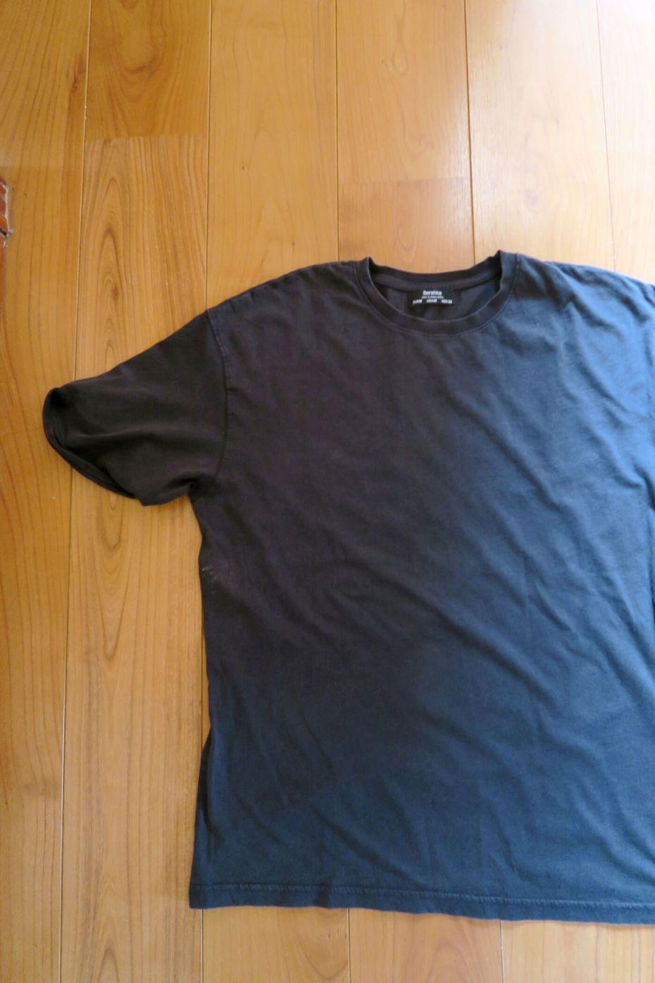Tutorial reciclaje ropa: DIY camiseta tie dye lejía