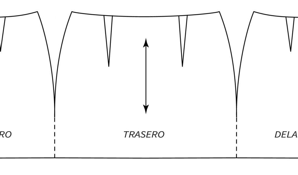 Tutorial patronaje: patrón falda pañuelo, patrón