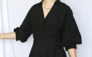 Tutorial reciclaje ropa: DIY vestido camisa ajustado