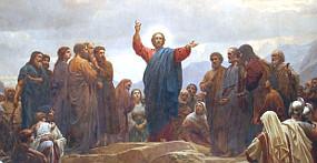 'Sermon on the Mount' by Henrik Olrik