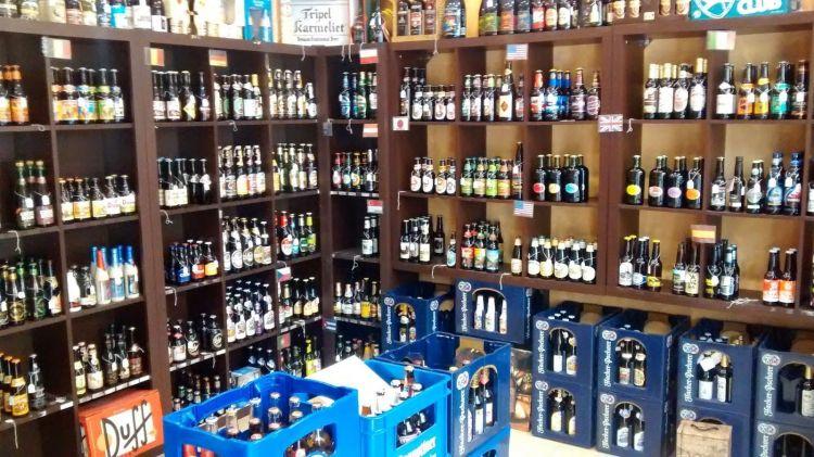 Tiendas cerveceras