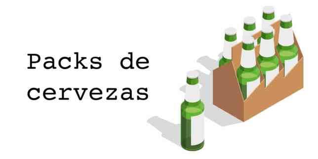 Packs de cervezas artesanales