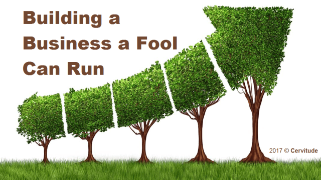 Building a Business A Fool Can Run