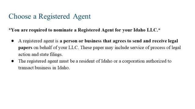 How to Form an LLC Idaho 3