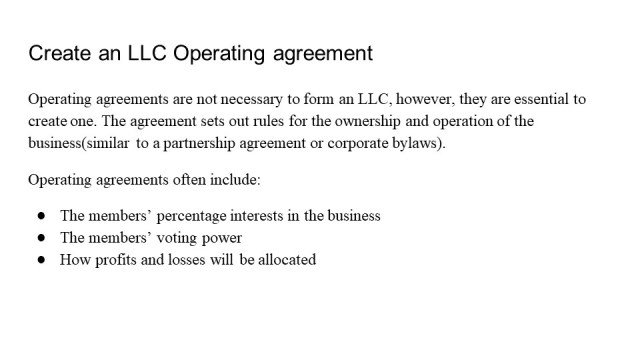 How to Form an LLC in Arkansas 5