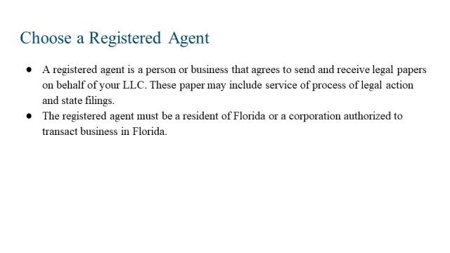 How to Form an LLC in FLorida 3