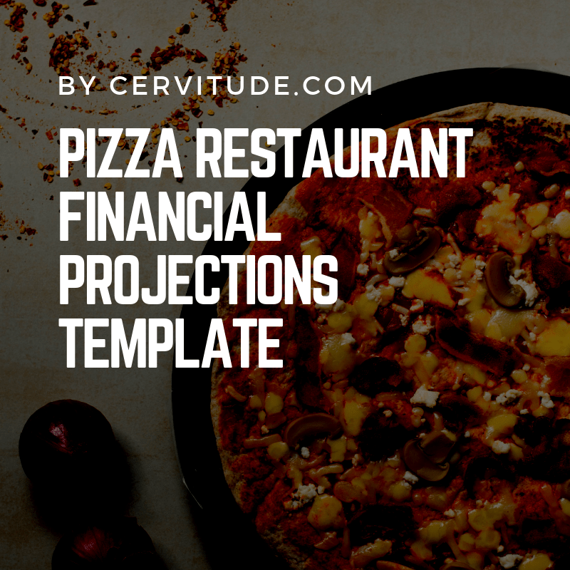 5 Year Pizza Restaurant Cash Flow & Financial Projections Template