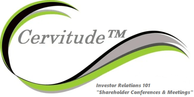 Investor Relations 101 Shareholder Conferences & Meetings