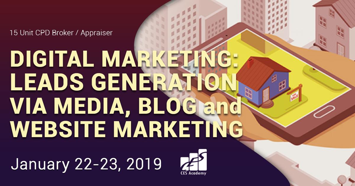 Digital Marketing: Leads Gneration via Media, Blog and Website Marketing